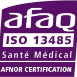 Logo certification AFAQ ISO 13485