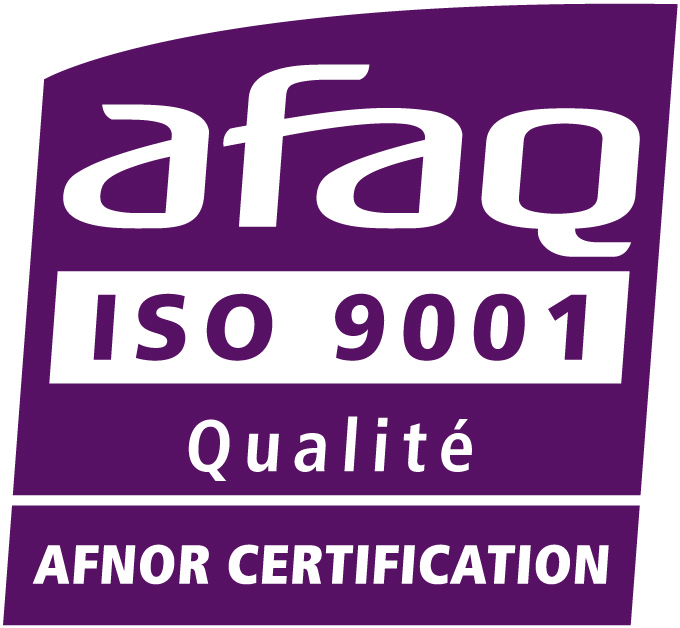 Logo certification AFAQ ISO 9001